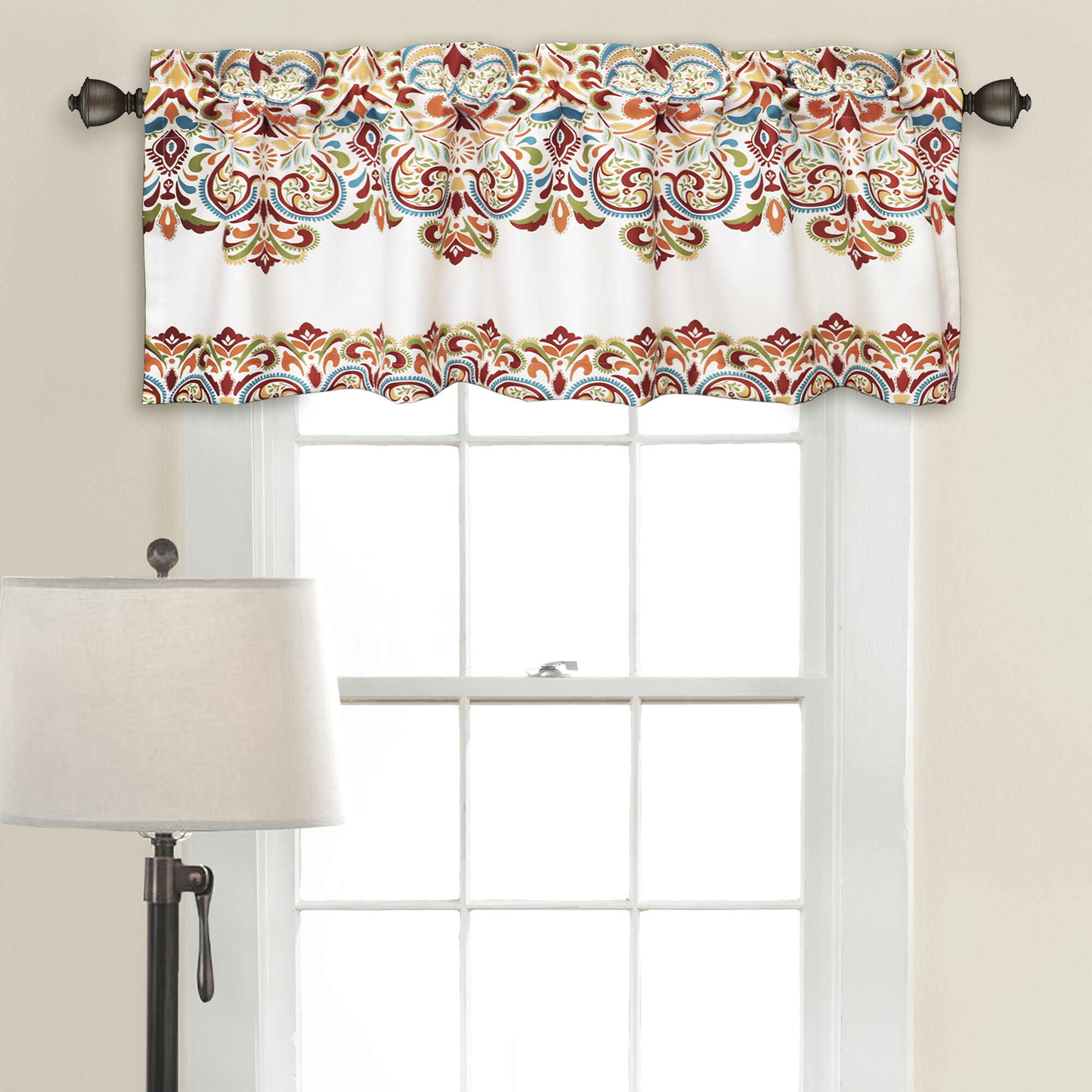 ideas windows swags swag curtains bamboo custom kitchen valance valances window for regarding waverly