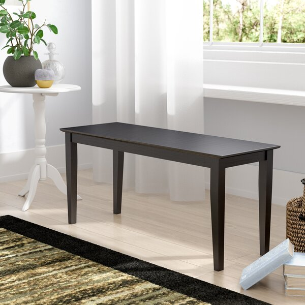 Allwood Wood Bench by Charlton Home