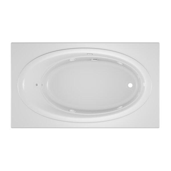 Nova Right-Hand 72 x 42 Drop in Whirlpool Bathtub by Jacuzzi®