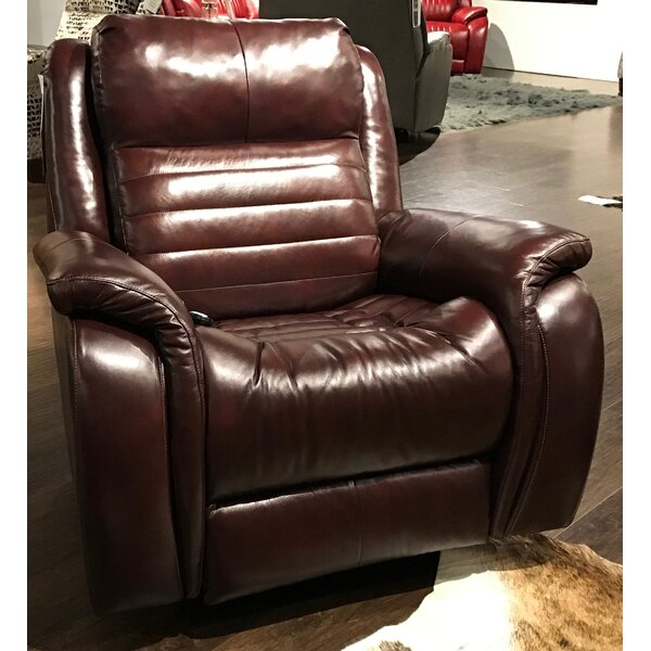 Essex Socozi Genuine Leather Reclining Massage Chair By Southern Motion