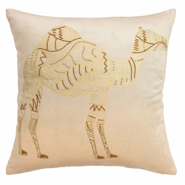 Sabrine Beaded Throw Pillow by Blissliving Home