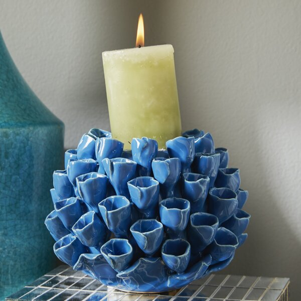 Ceramic Candlestick by Beachcrest Home