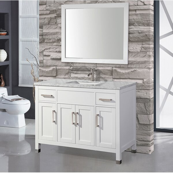 Denault 60 Single Sink Bathroom Vanity Set by Brayden Studio
