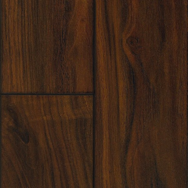 Revolutions 5'' x 51'' x 8mm Walnut Laminate Flooring in Heirloom by Mannington