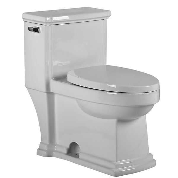 Magicflush 1.28 GPF Elongated One-Piece Toilet by Whitehaus Collection