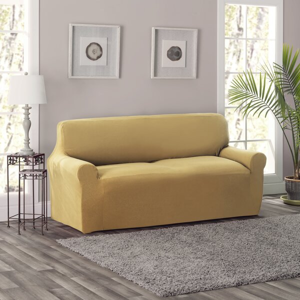 King Box Cushion Sofa Slipcover By Breakwater Bay