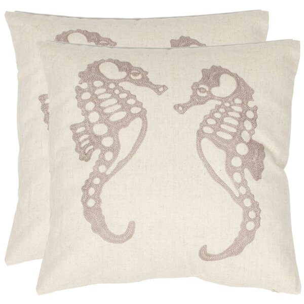 Eldon Throw Pillow (Set of 2) by Safavieh