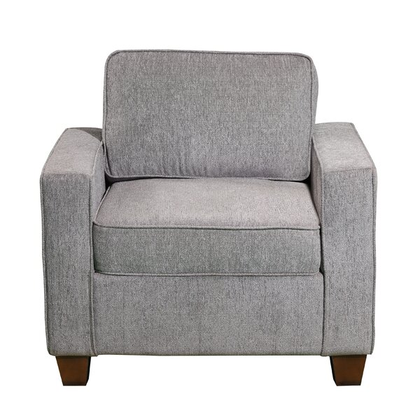 Middlesex Casual Upholstered Armchair by Ebern Designs
