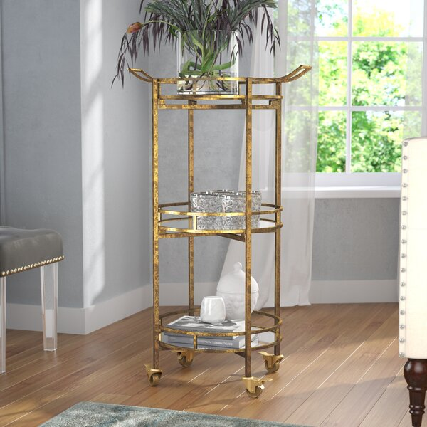 Risher Bar Cart by Willa Arlo Interiors