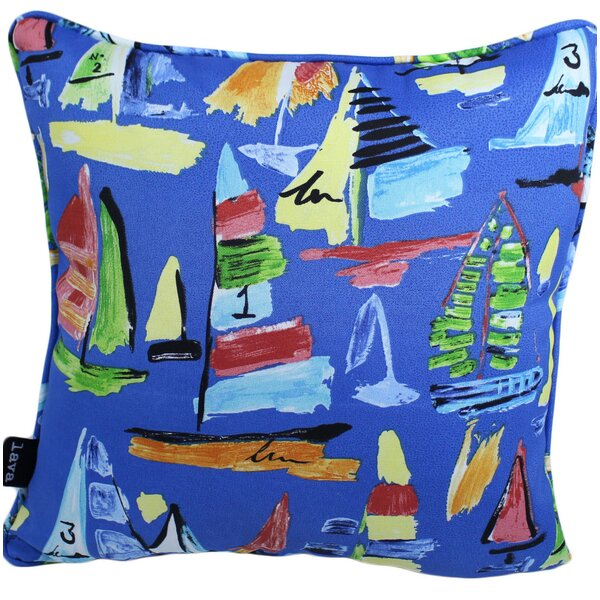 Wootton Outdoor Throw Pillow by Breakwater Bay