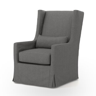 Great choice Kay Swivel Wingback chair By Darby Home Co