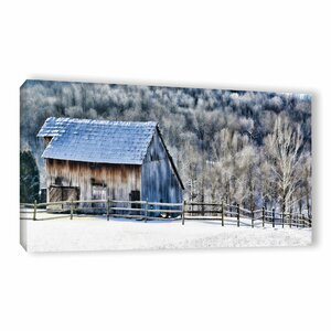 Frosty Morning Painting Print on Wrapped Canvas by Loon Peak