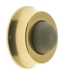 Solid Brass Wall Stop by idh by St. Simons