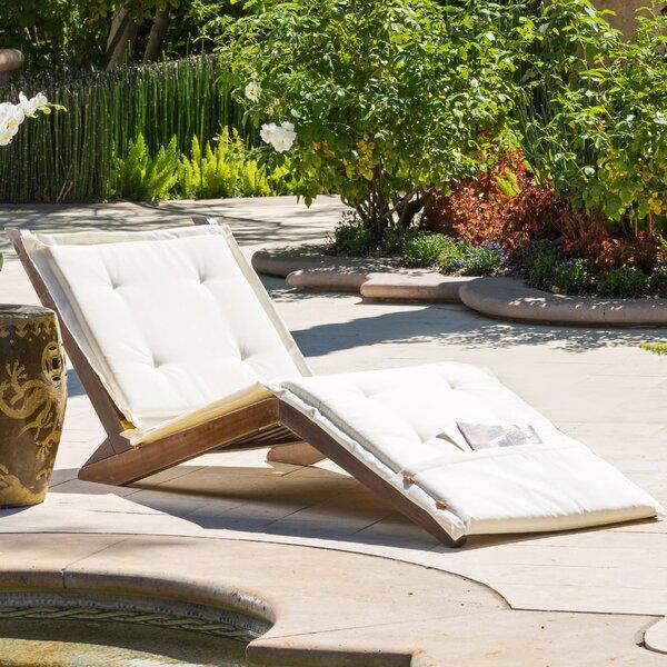 Antonetta Chaise Lounge with Cushion