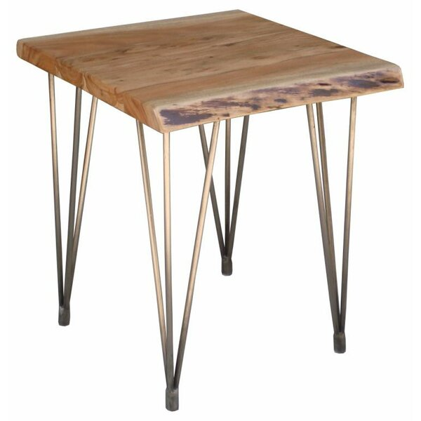 Wooden End Table by Teva Furniture