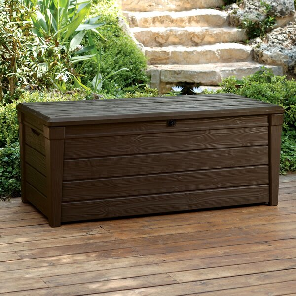 Brightwood 120 Gallon Resin Deck Box by Keter