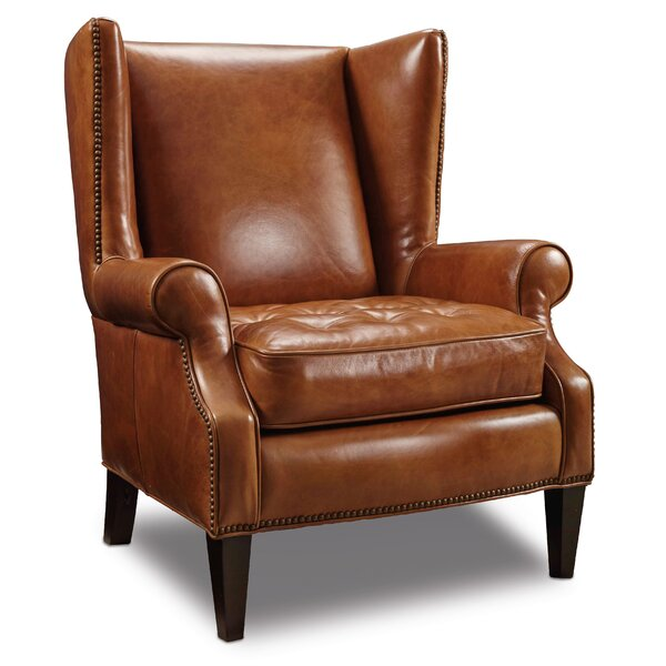 George Wingback Chair by Hooker Furniture Hooker Furniture