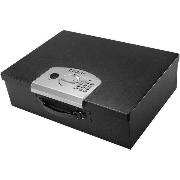 Digital Portable Keypad Lock Security Safe 0.63 CuFt by BarskaDigital Portable Keypad Lock Security Safe 0.63 CuFt by Barska