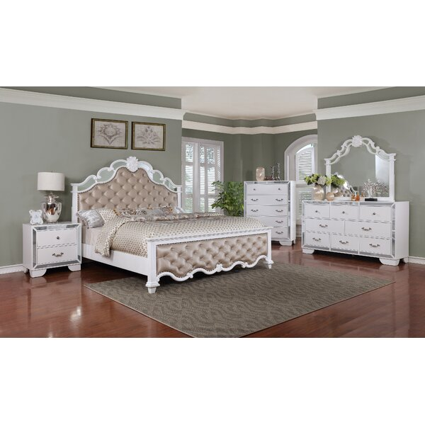 Bilbie Panel 4 Piece Bedroom Set by Rosdorf Park