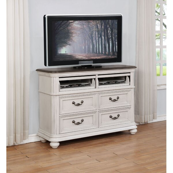 Alisa 4 Drawer Media Chest by One Allium Way