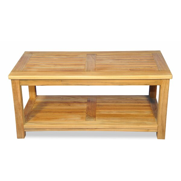 Rondon Teak Coffee Table by Loon Peak