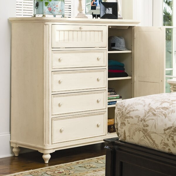 Badgett 4 Drawer Gentlemans Chest by Canora Grey