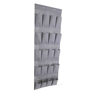 Affordable Polyester 20 Pair Overdoor Shoe Organizer ByHome Basics