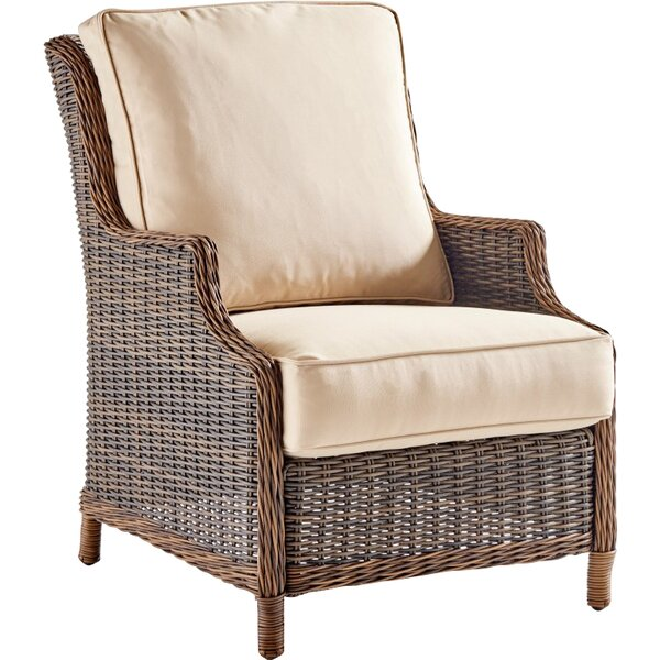 Fannin Patio Chair with Cushions by Darby Home Co