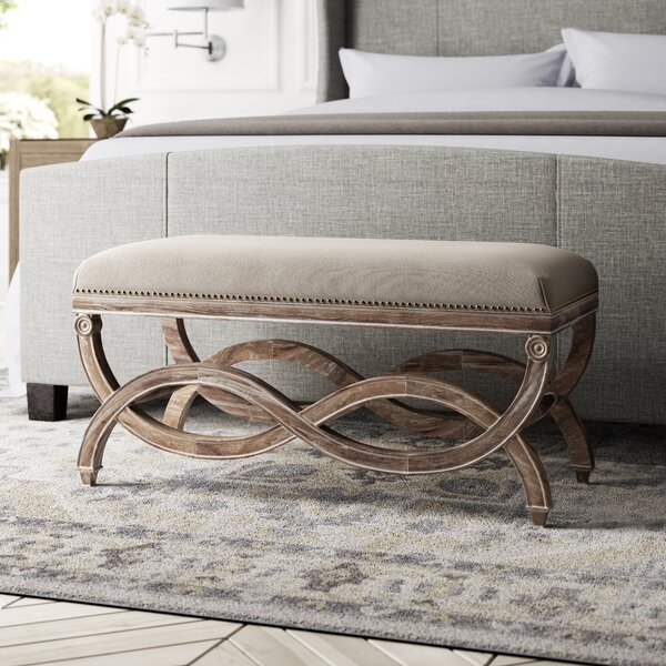 Grundy Upholstered Bedroom Bench by Greyleigh