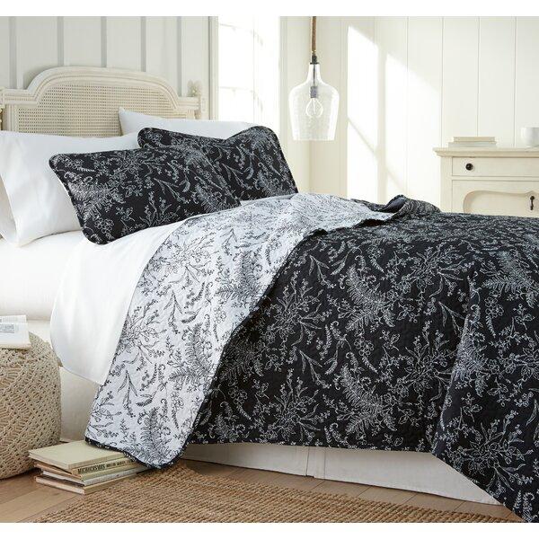 Dunson Print Reversible Quilt Set by Winston Porter