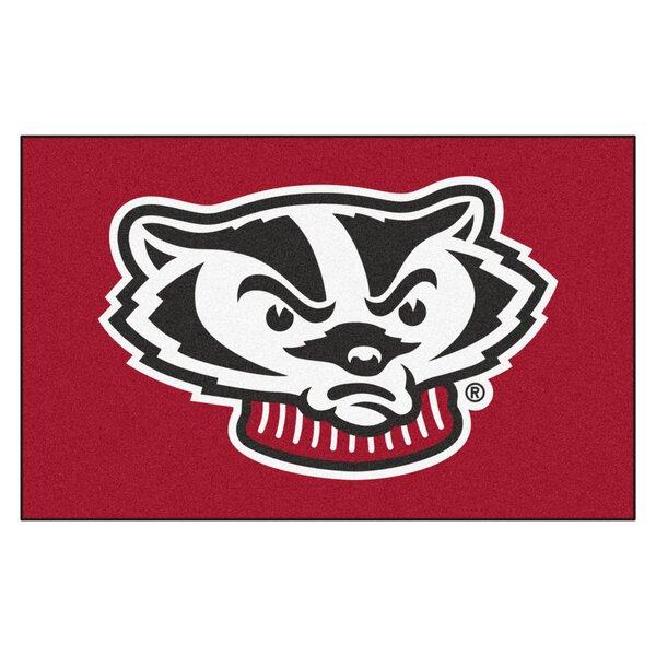 NCAA University of Wisconsin Ulti-Mat by FANMATS