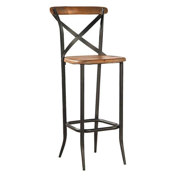 Metal Cross Patio Bar Stool (Set of 2) by Furniture Classics
