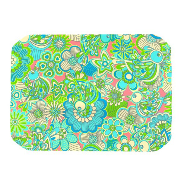Welcome Birds To My Garden Placemat by KESS InHouse