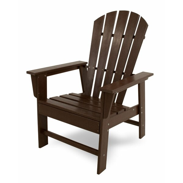 South Beach Casual Plastic Adirondack Chair by POLYWOOD POLYWOOD®