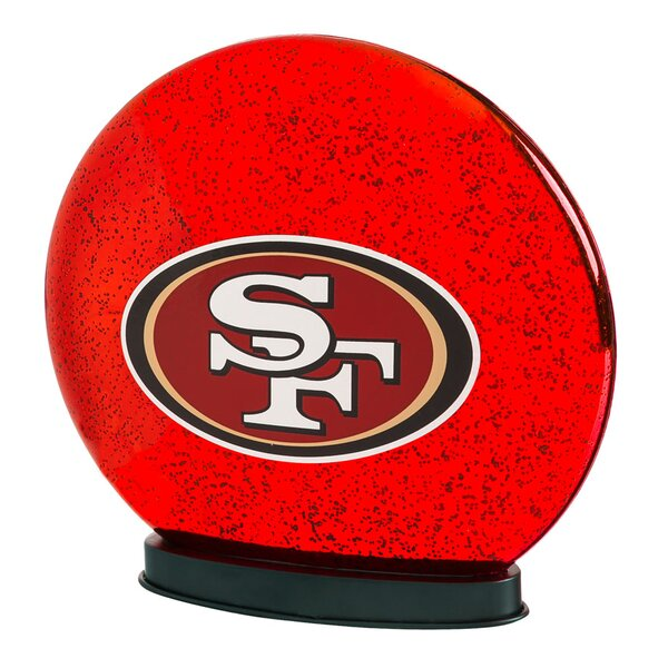 NFL Indoor LED Glass Globe by Evergreen Enterprises, Inc