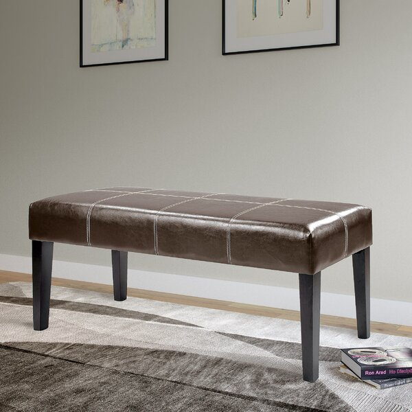 Booth Upholstered Bench by Darby Home Co