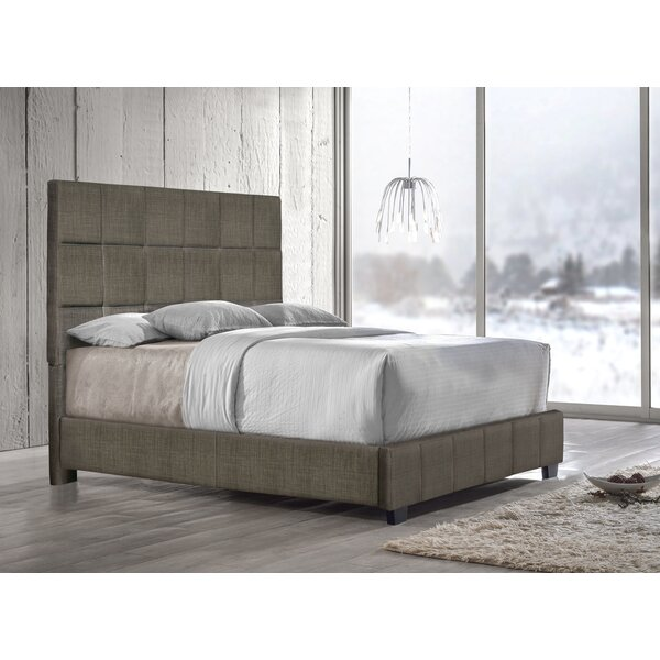 Pohlman Upholstered Standard Bed by Union Rustic