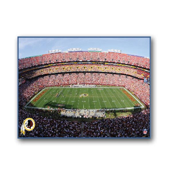 NFL Stadium Photographic Print on Canvas by Artissimo Designs