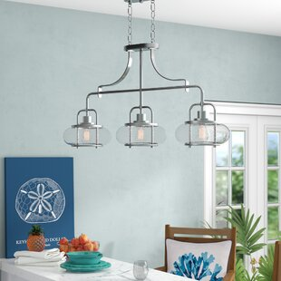 Buy luxury Braxton 3-Light 60W Kitchen Island Pendant By Beachcrest Home