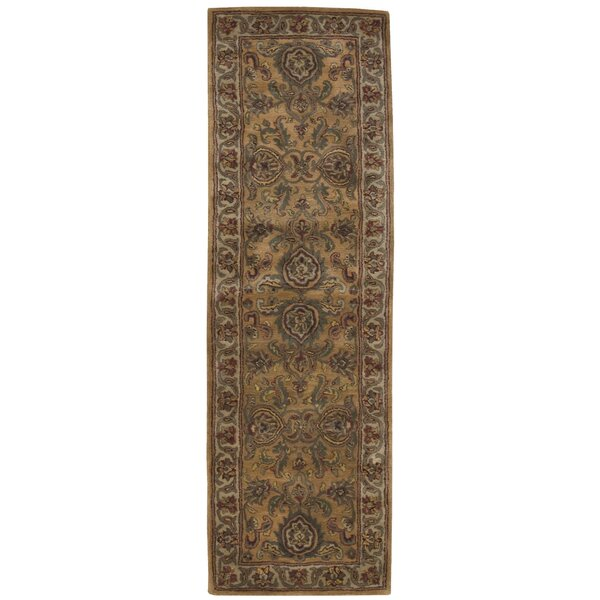 Delaware Gold Area Rug by Darby Home Co