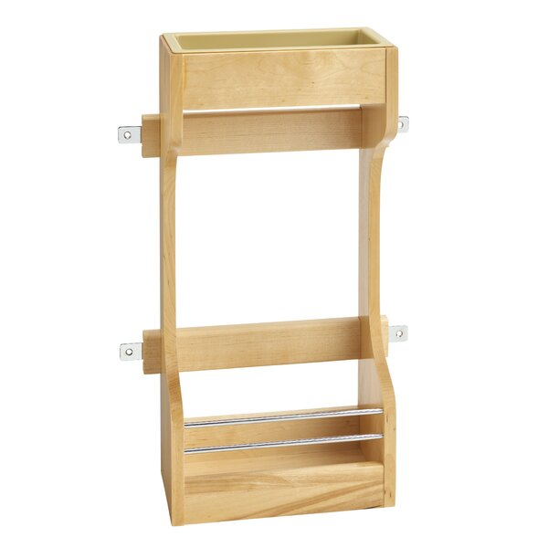 Door Mount Wood Sink Base Cabinet Door Organizer by Rev-A-Shelf