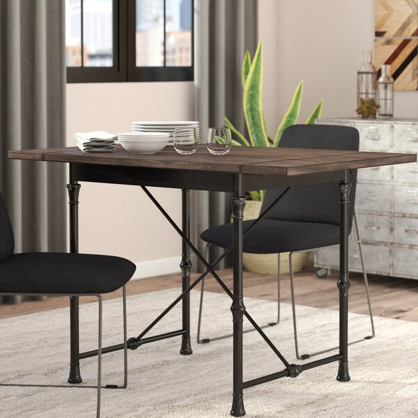 Cristal Drop Leaf Dining Table by Trent Austin Design
