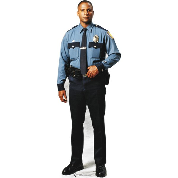 Modern Heroes Policeman Cardboard Stand-up by Advanced Graphics