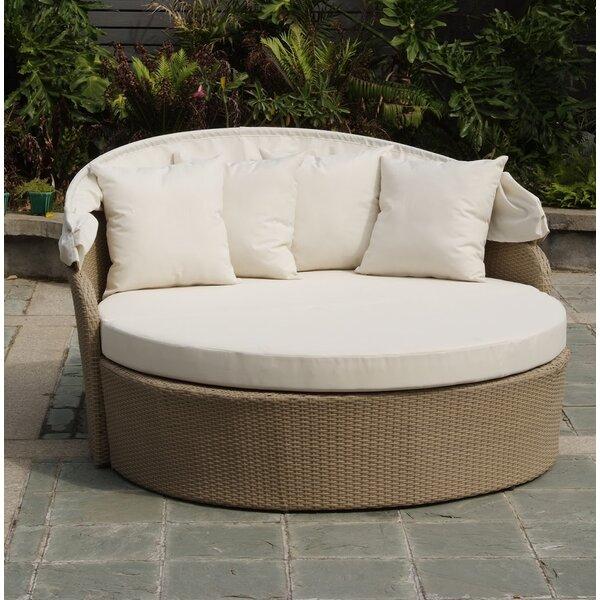 Dunnam Outdoor Patio Daybed with Cushion by Brayden Studio Brayden Studio
