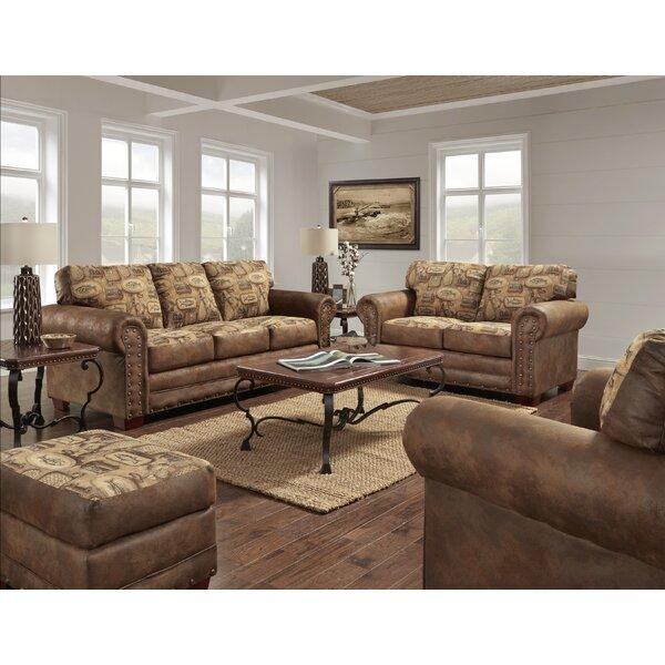 Indigo River Bend 4 Piece Living Room Set by Loon Peak