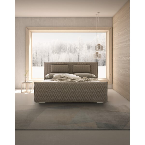 Nichols Upholstered Platform Bed by Canora Grey