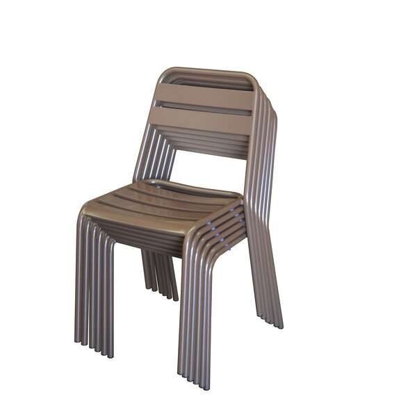 Stackable Patio Chair (Set of 4) by DHC Furniture DHC Furniture
