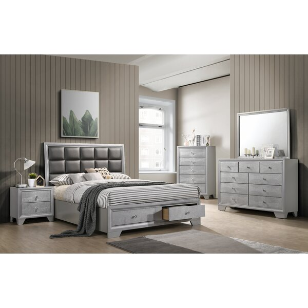 Bowdoin Upholstered Storage Standard Bed By House Of Hampton