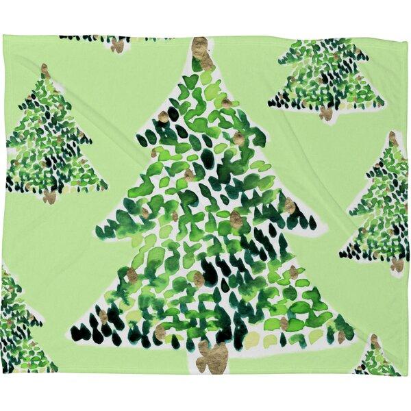 Bernardino Smells Like Christmas Plush Fleece Throw Blanket by Brayden Studio