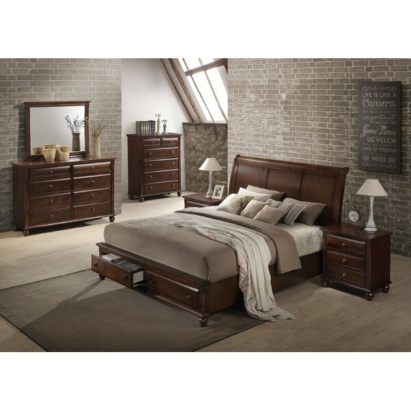 Lehigh Platform Configurable Bedroom Set by Darby Home Co